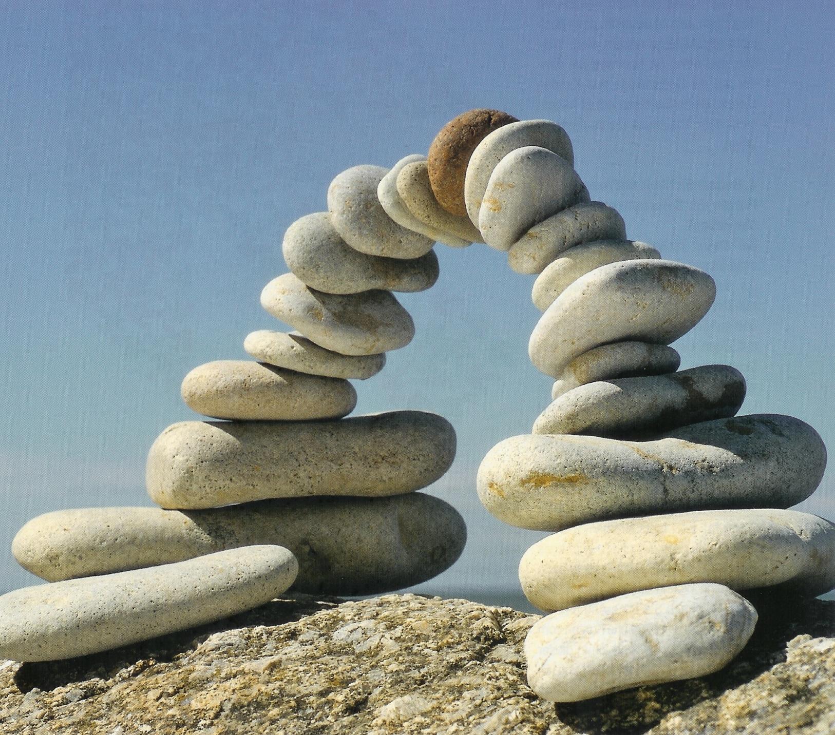 Personalmarketing Peter Freitag Steine Balance